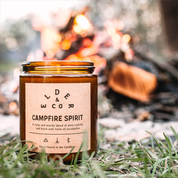 Campfire Spirit Candle Elder & Co.