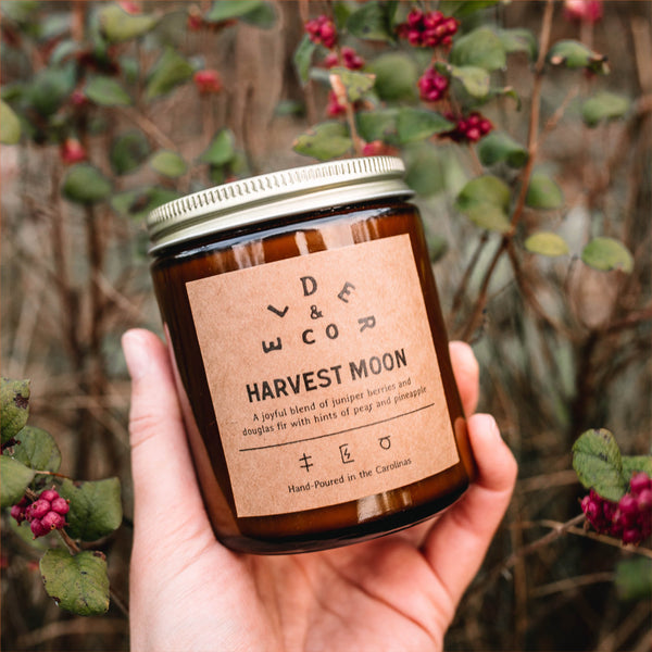 Harvest Moon Candle Elder & Co.