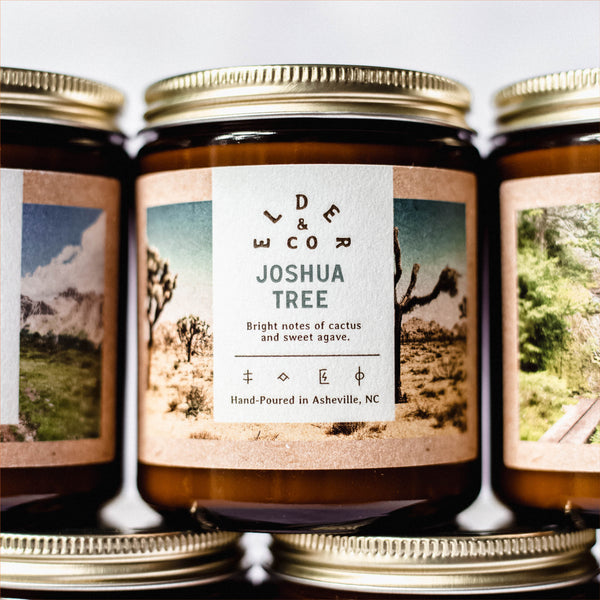 joshua tree candle