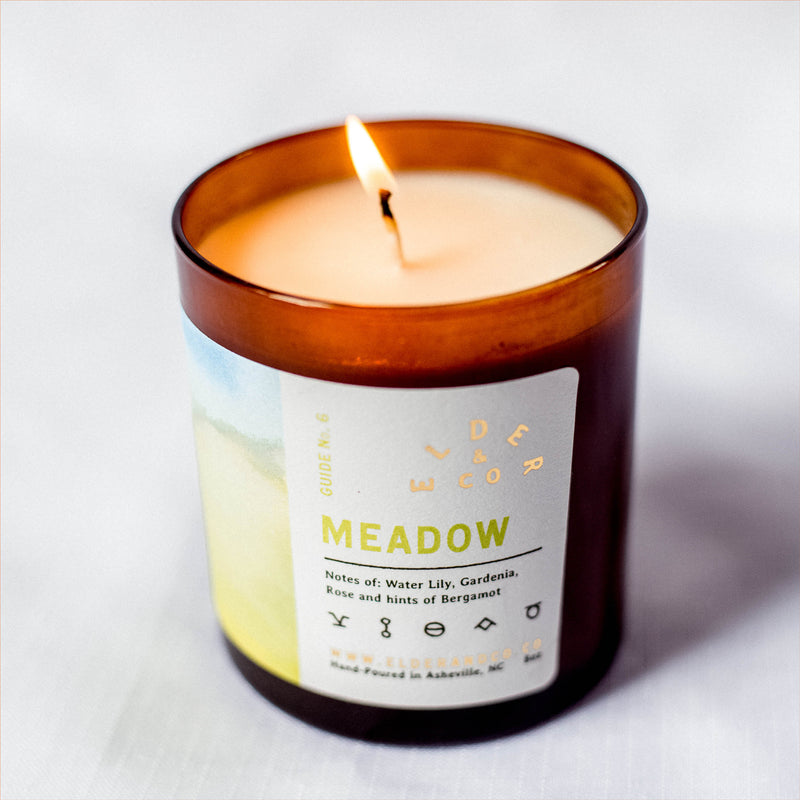 mountain soy candle