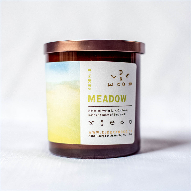 meadow soy candle