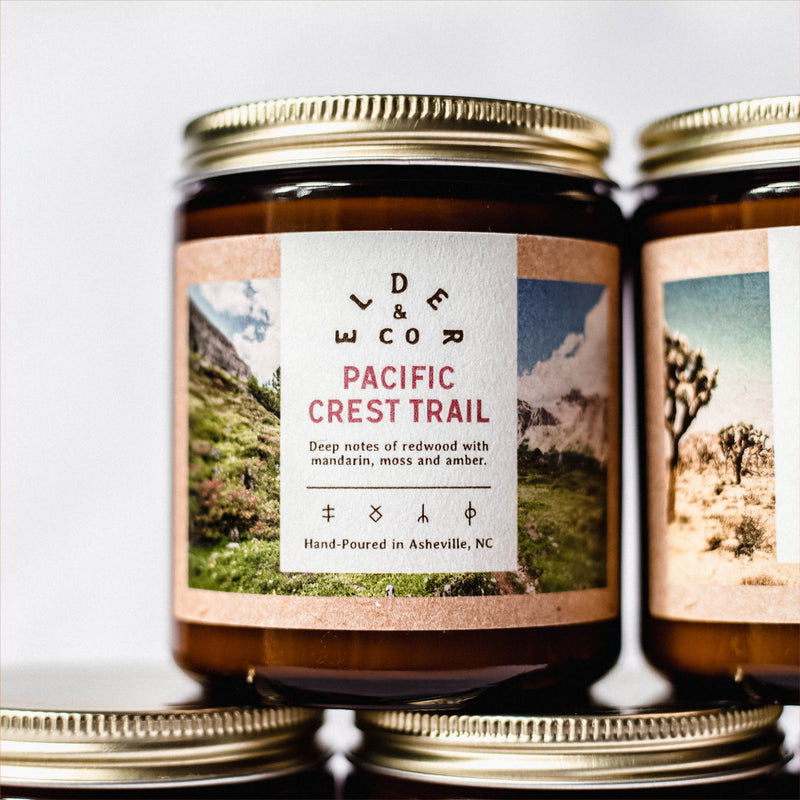 pacific crest trail candle