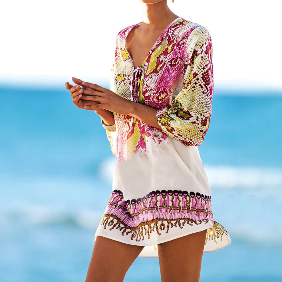 Send It On Beach Tunic