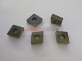Solid CBN insert CNMG1204 TB400 for  alloyed cast iron and alloy cast  steel machining