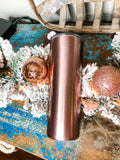 Rose Gold Personalized Skinny Mini Tumbler