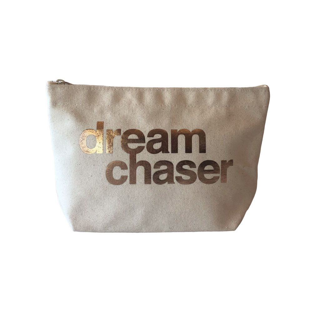 DREAM CHASER POUCH ROSE GOLD