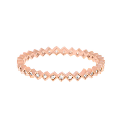 KITE RING ROSE GOLD