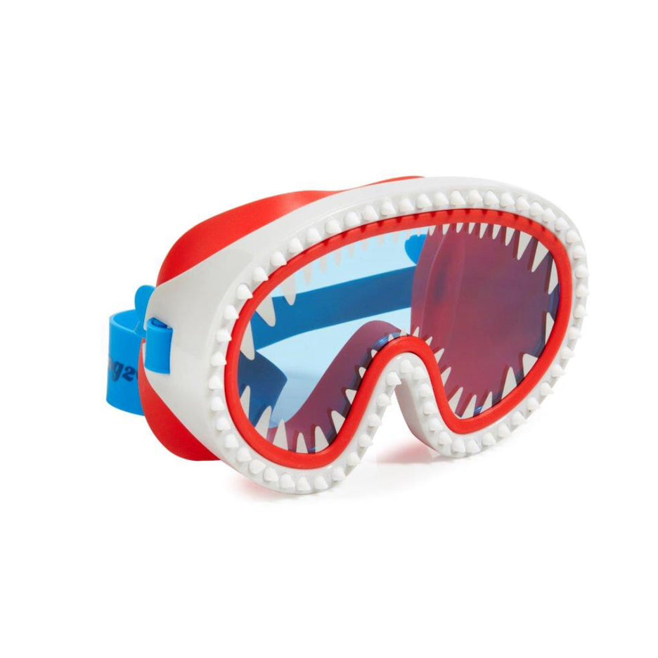 SHARK GOGGLE MASK RED