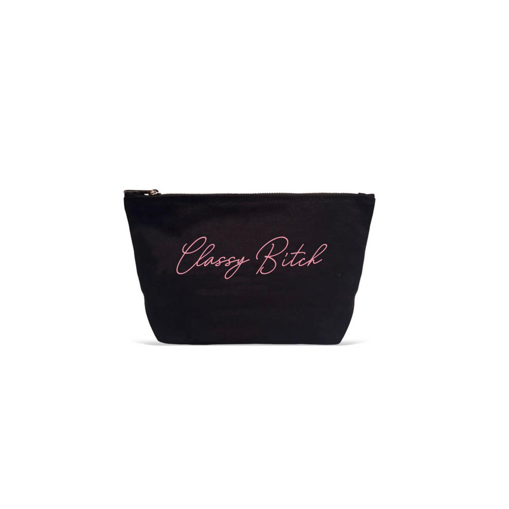SMALL MAKEUP POUCH CLASSY B