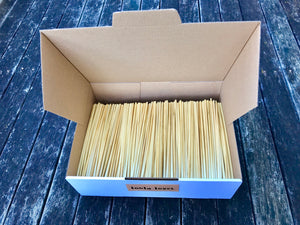 Wheat straws - Box of 1000 - 20cms