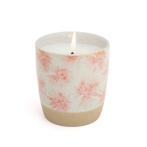 Pink Palm Candle