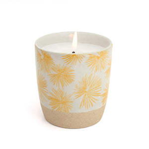 Scented Candle - Yellow Palm