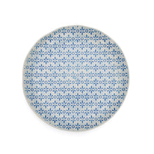 Load image into Gallery viewer, Dinner Plate - Blue Flower