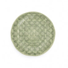 Load image into Gallery viewer, Side Plate - Green Mosaic