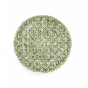 Side Plate - Green Mosaic