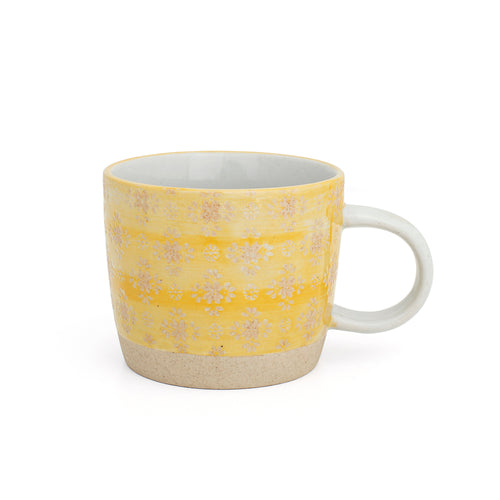 Mug - Yellow Lace