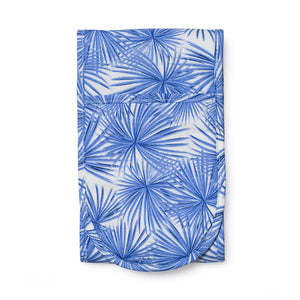 Double Oven Glove - Blue Palm