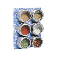 Load image into Gallery viewer, Spice Rack Set -  Blue Palm