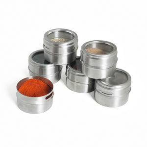 Spice Rack Set -  Blue Palm