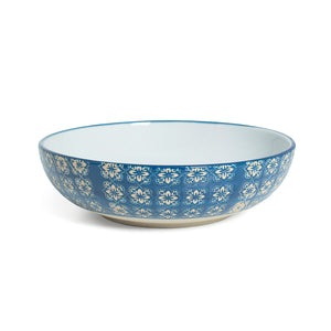 Supper Bowl - Blue Mosaic