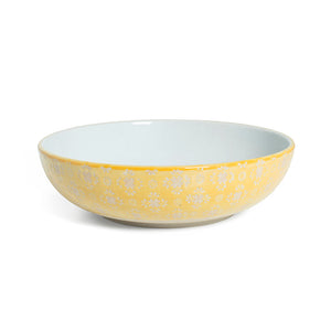 Supper Bowl - Yellow Lace