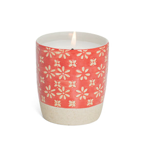 Scented Candle - Red Flower