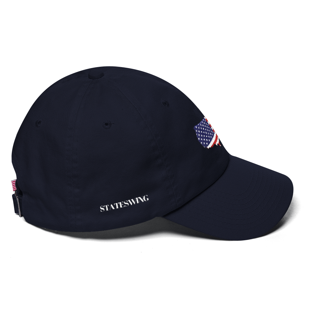 USA Flag Dad Hat (7 color options)
