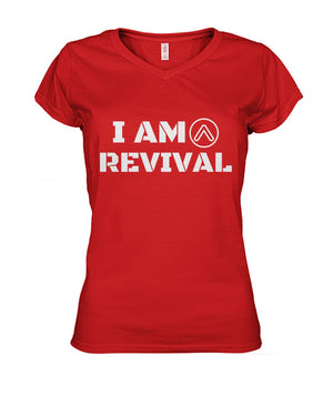 I Am Revival Women's V-neck