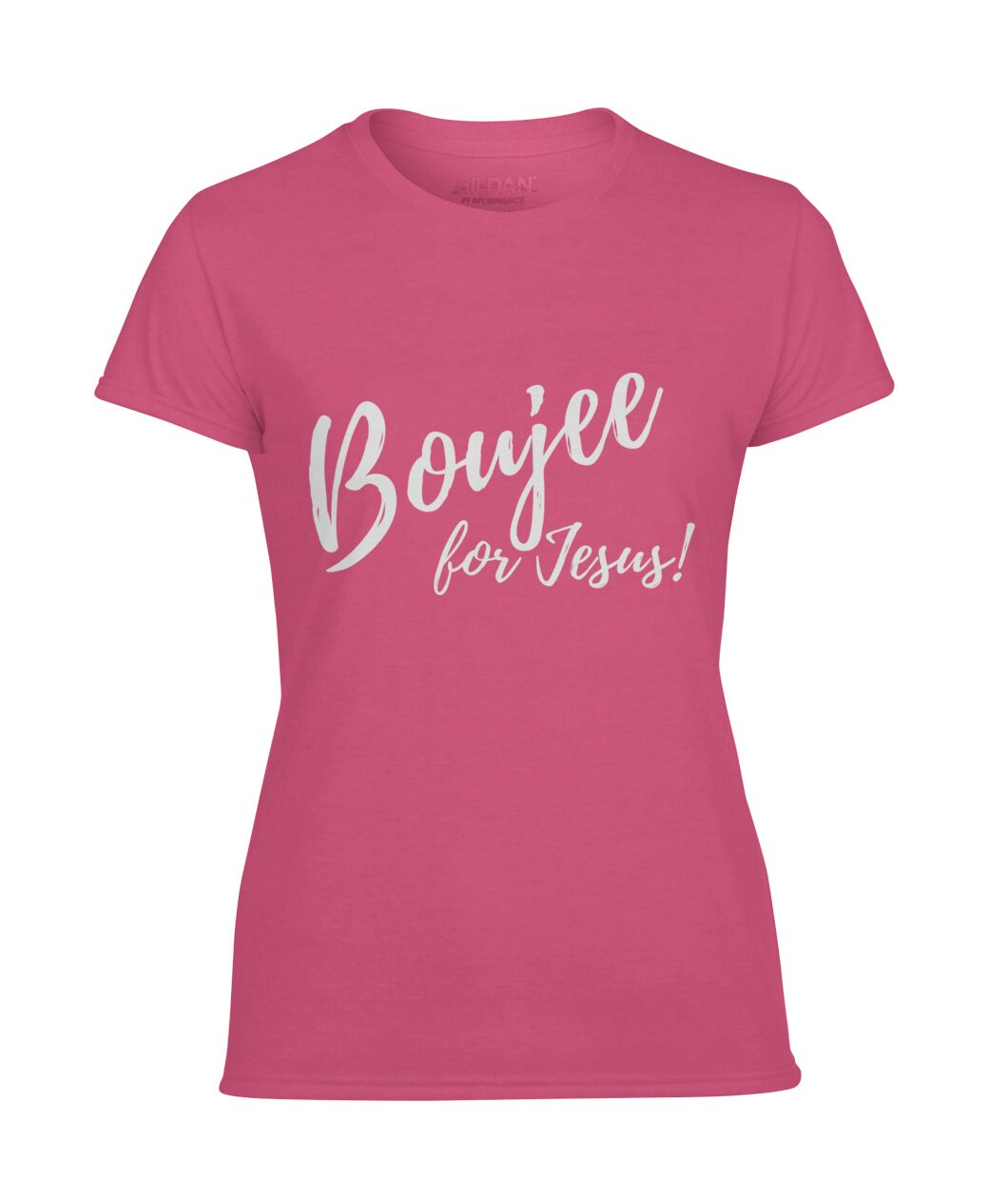 Boujee for Jesus - Women's Performance Tee