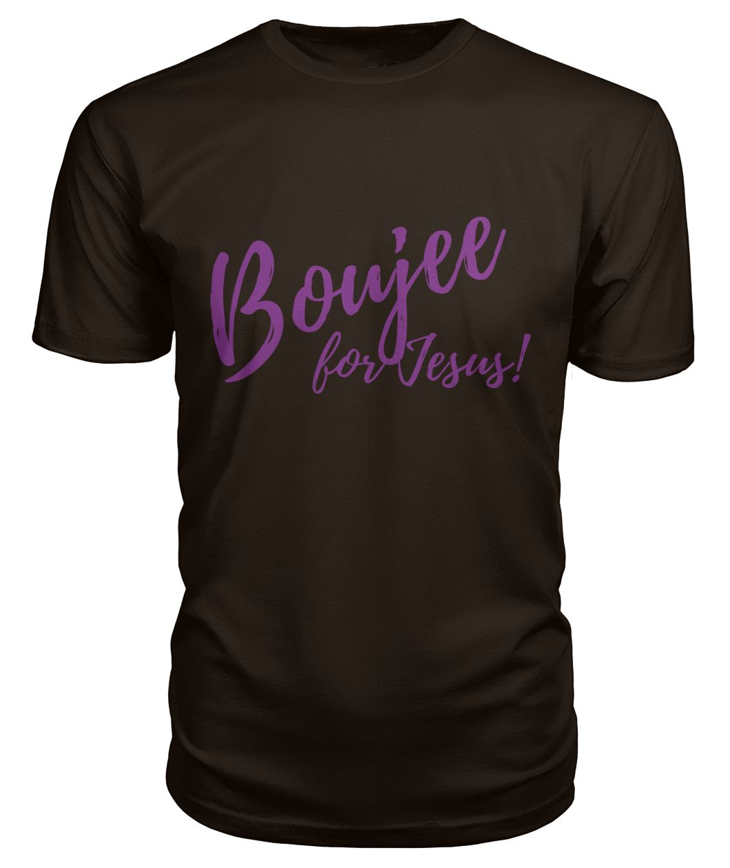 Boujee for Jesus Short Sleeve T-shirt