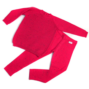 Knitted pink bottoms-woolitro