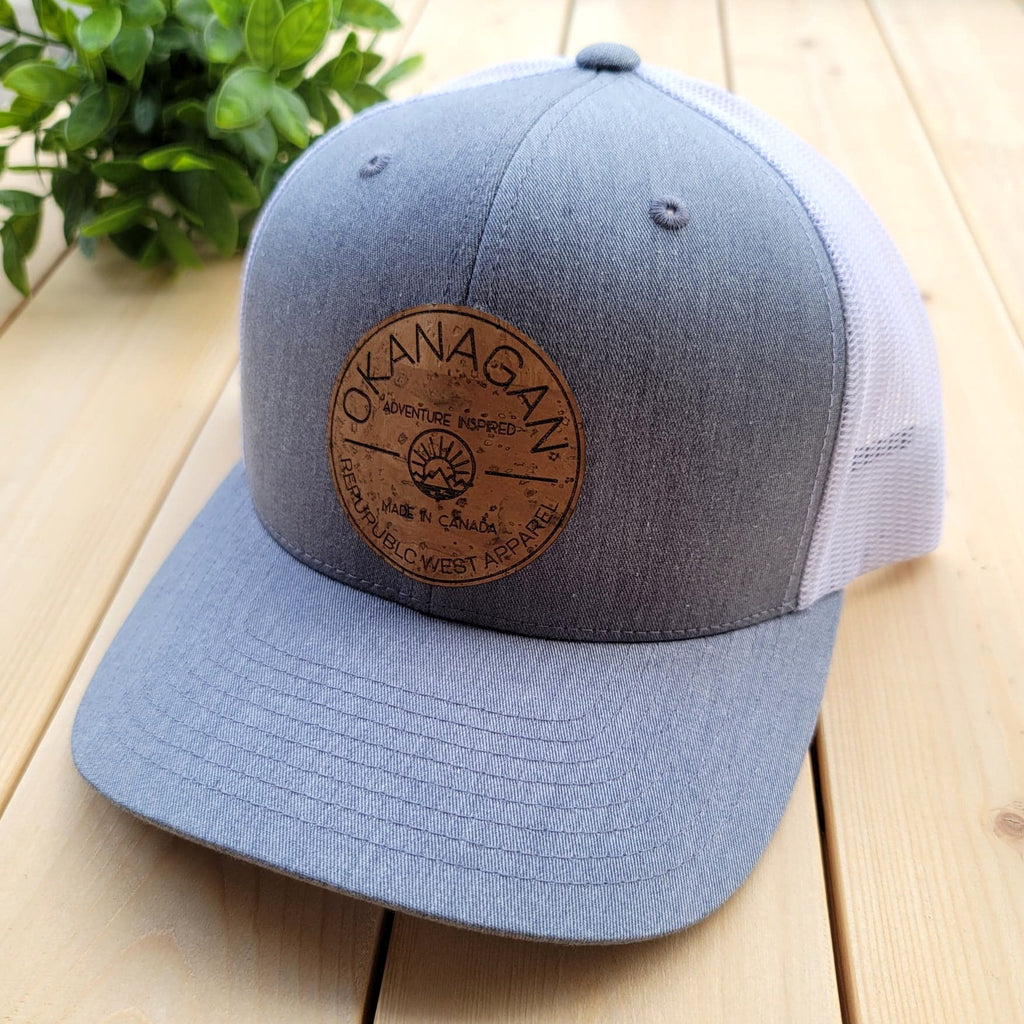 Okanagan Classic Cork Patch Trucker Hat