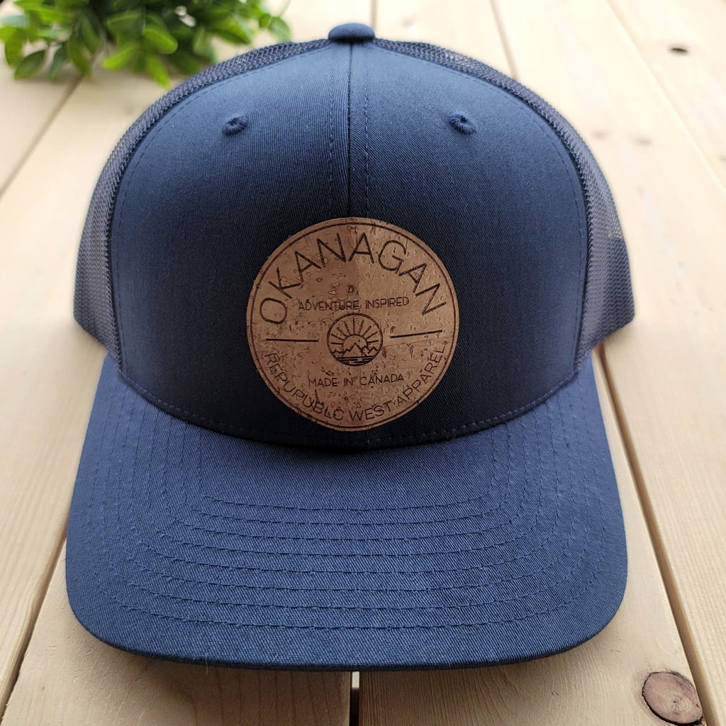 Okanagan Classic Cork Patch Trucker Hat - Navy