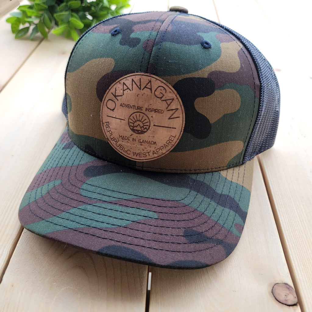 Okanagan Classic Cork Patch Trucker Hat - Camo