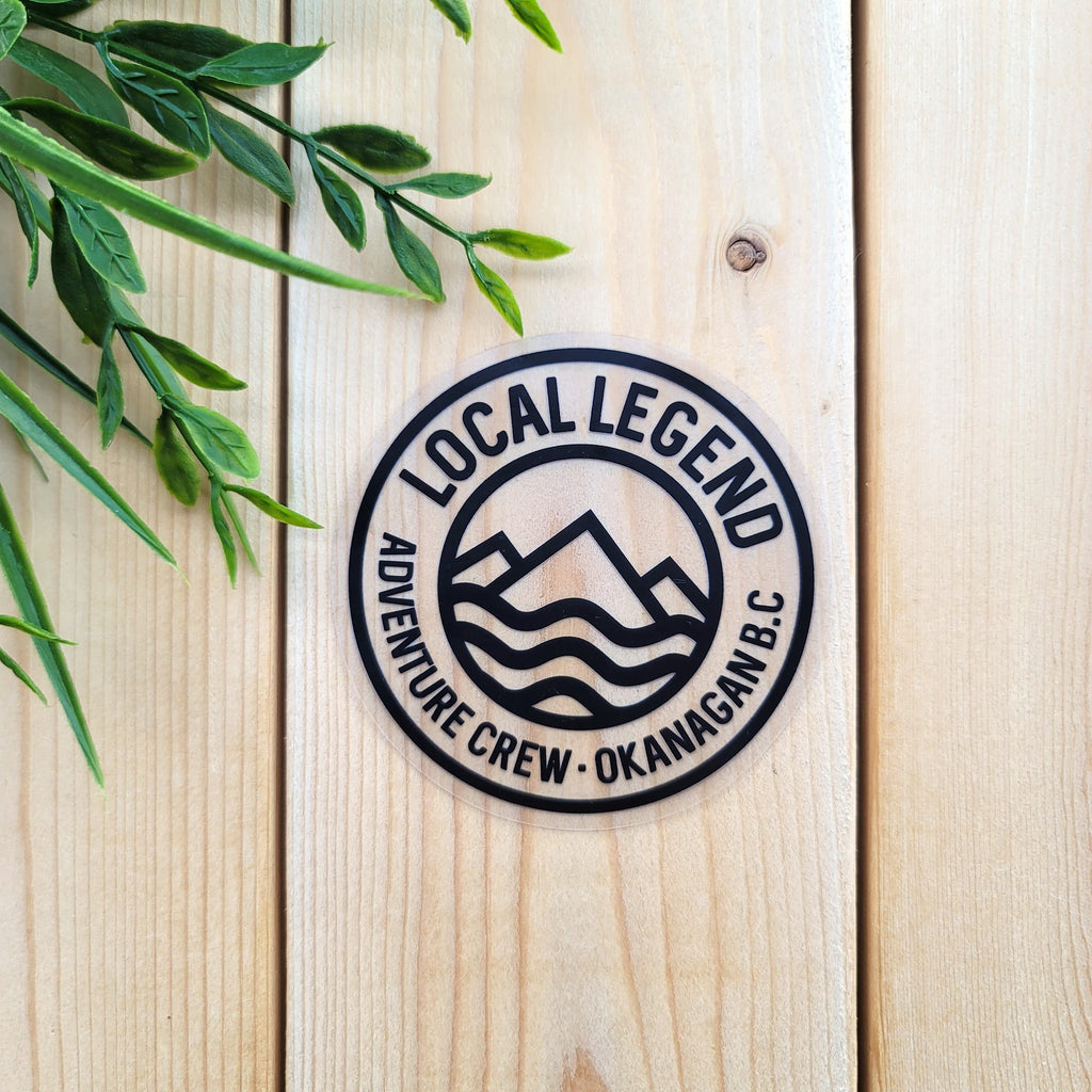Local Legend Adventure Crew Sticker