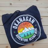 Okanagan Adventure Hoodie - Black - Republic West