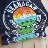 Okanagan Logo Hoodie - Charcoal - Republic West
