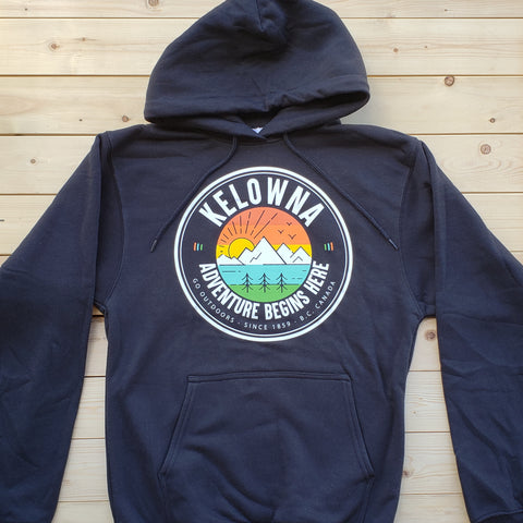 Kelowna Adventure Hoodie - Black - Republic West