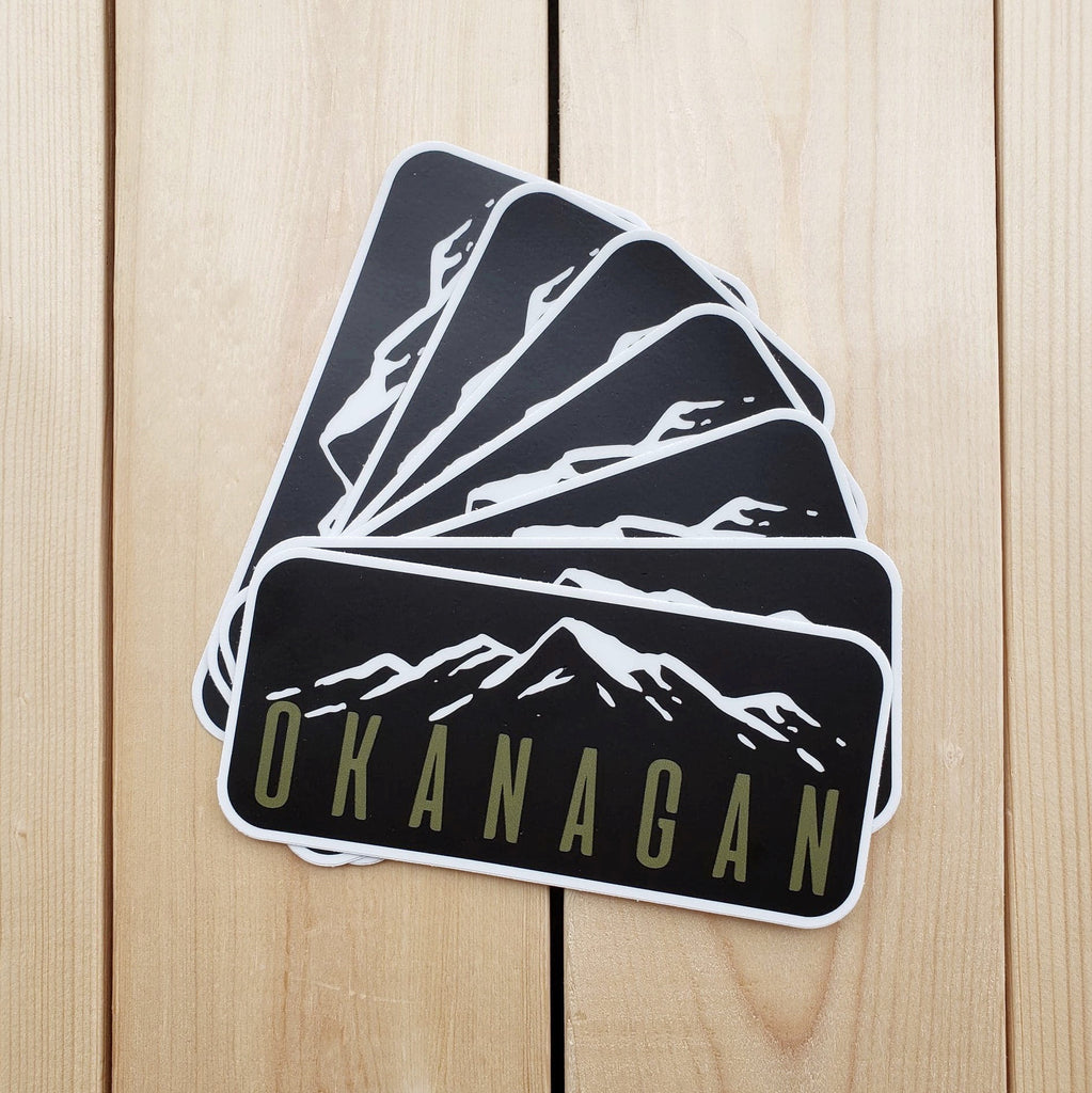 Okanagan Mountains Sticker - Republic West