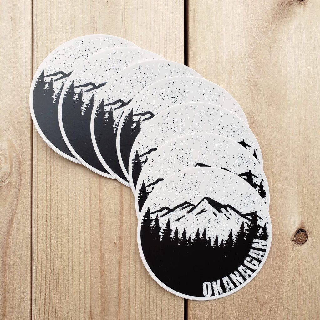 Okanagan Moon Sticker - Republic West