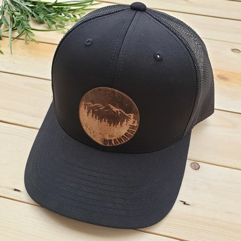 Okanagan Cork Patch Trucker Hat