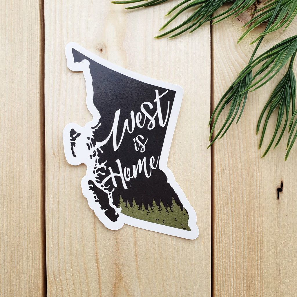 West Is Home Sticker - Republic West