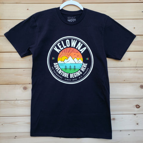 Kelowna Adventure T-Shirt - Republic West
