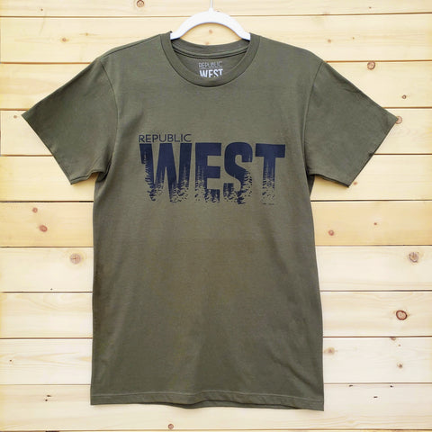 West Woods T-Shirt - Republic West