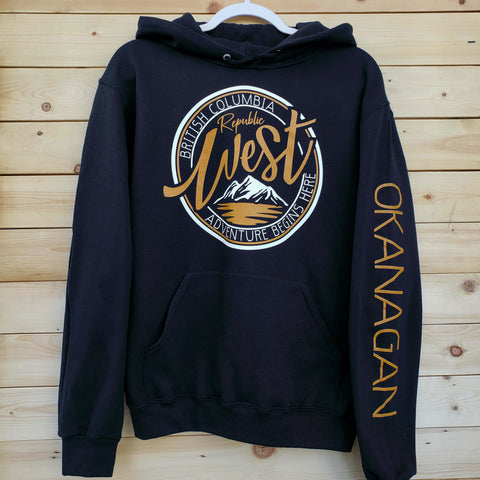 West Rebel Hoodie - Okanagan - Republic West