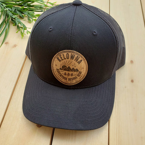 Kelowna Natural Cork Patch Trucker Hat - Republic West