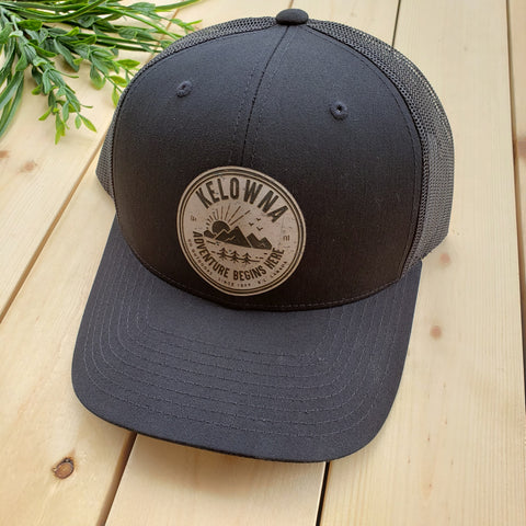 Kelowna Grey Cork Patch Trucker Hat - Republic West