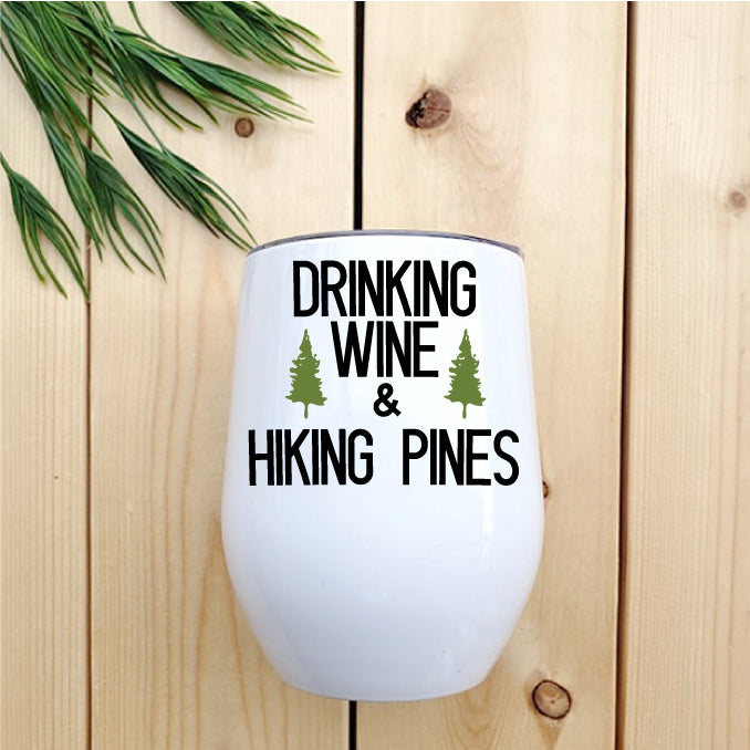 Drinking Wine & Hiking Pines - Republic West