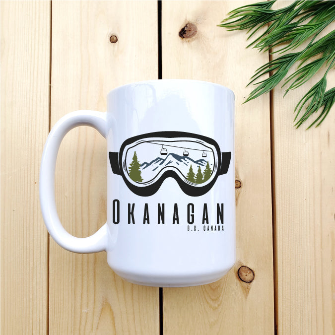 Okanagan Goggles Mug - Republic West