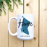 Home B.C. Mug with Coordinates - Republic West